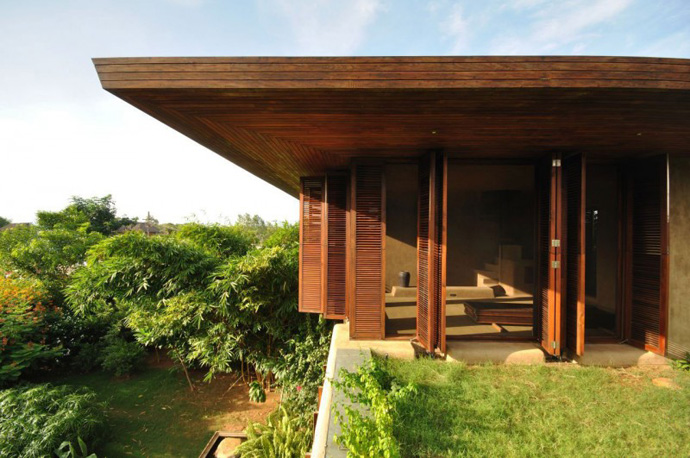 house contemporary with nature in india (16)