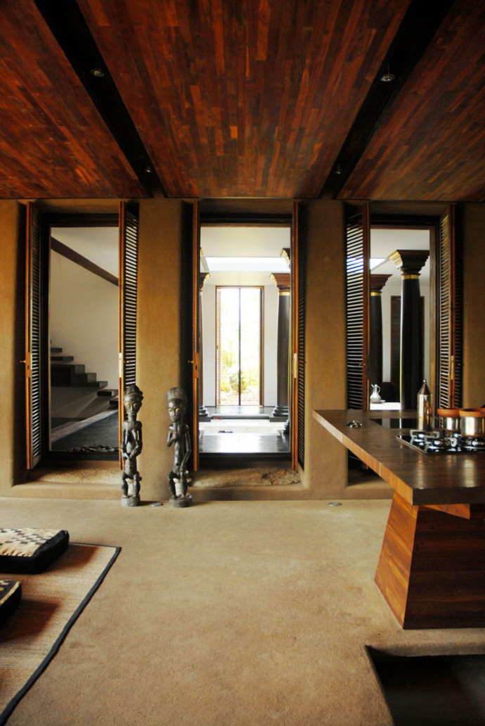 house contemporary with nature in india (2)