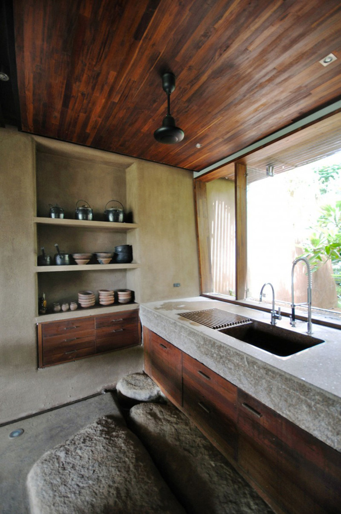 house contemporary with nature in india (4)