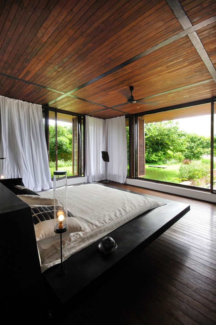 house contemporary with nature in india (6)