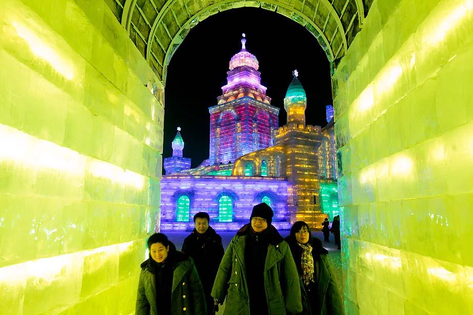 International Harbin Ice and Snow Festival held in Harbin