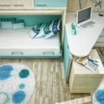 ตกแต่งห้องนอนในโทนสีฟ้า-ขาว เพิ่มความสดใส ในบรรยากาศชวนหลับสบาย