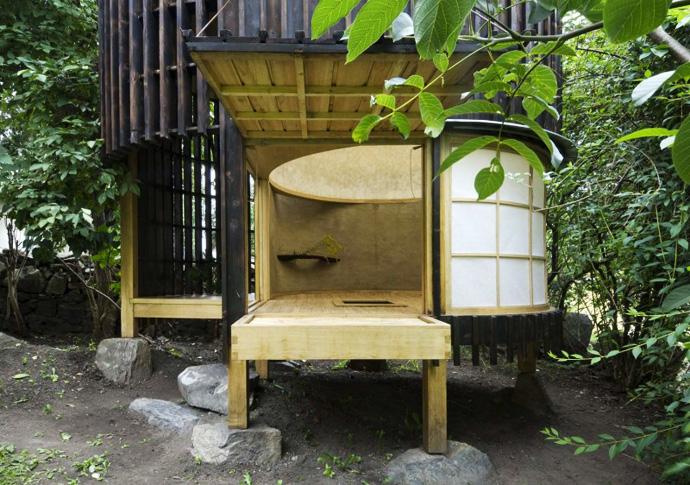 Backyard Japanese Tea House : ??????????????????????