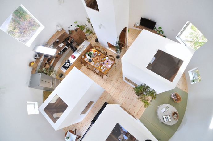 loft style house in japan idea (1)