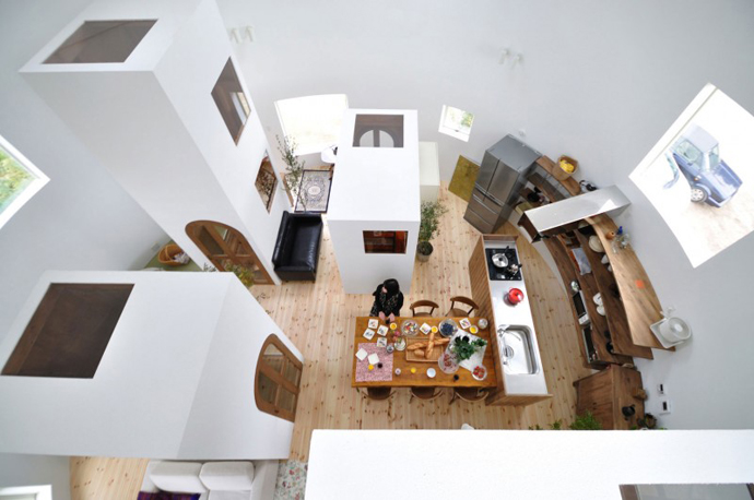 loft style house in japan idea (12)