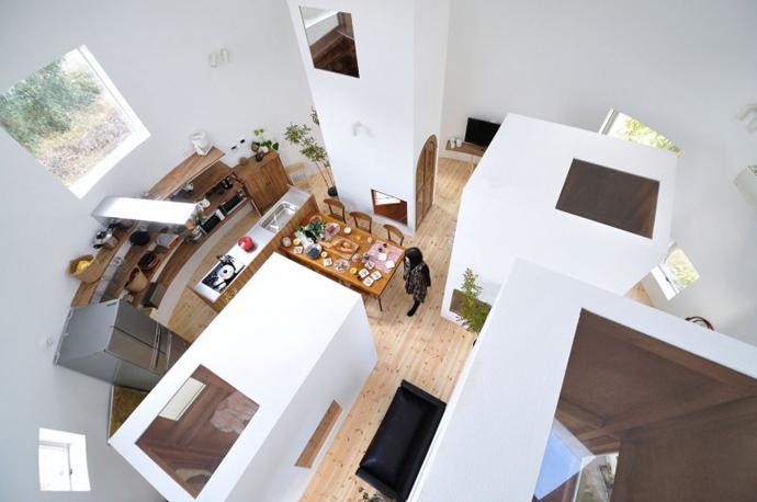 loft style house in japan idea (8)