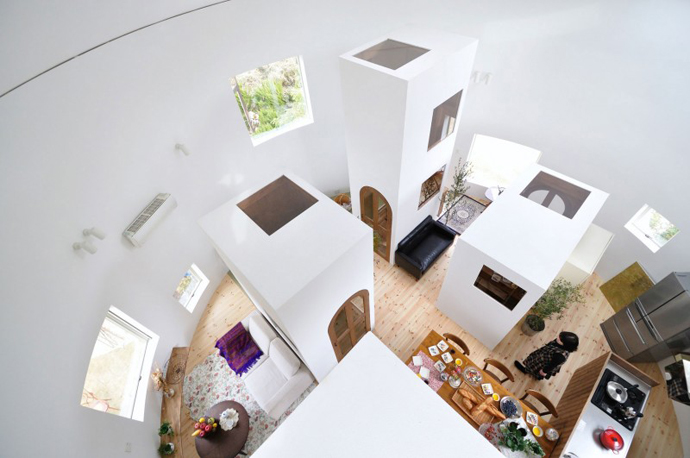 loft style house in japan idea (9)