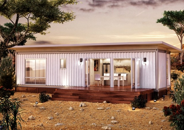 mini 2 bedrooms container house (7)