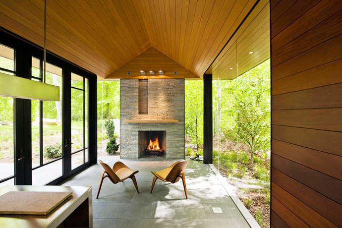 mini modern cottage house in forest usa (3)