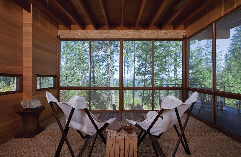modern cabin in the wood (6)