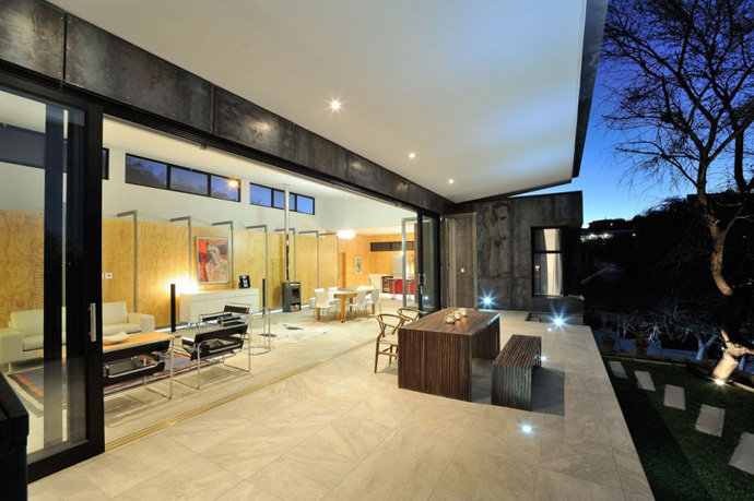 modern contemporary concrete house in namibia (1)