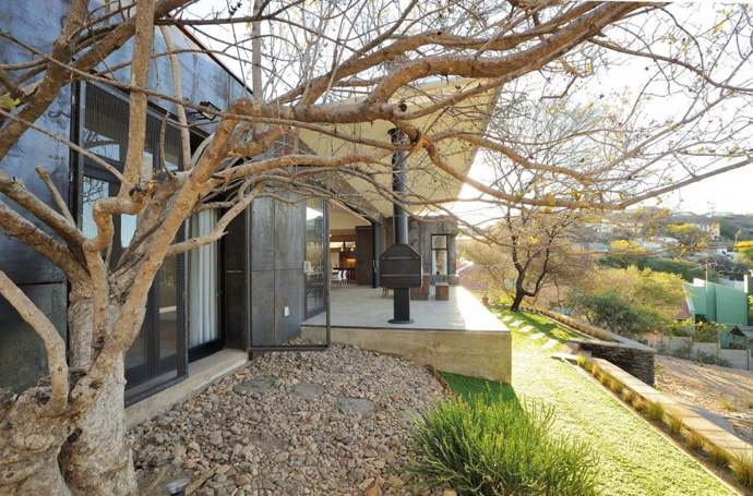 modern contemporary concrete house in namibia (10)
