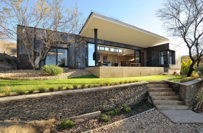 modern contemporary concrete house in namibia (2)