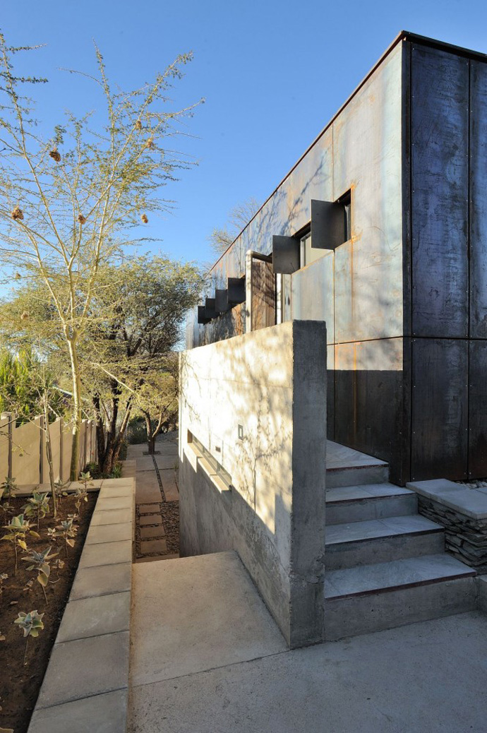 modern contemporary concrete house in namibia (7)