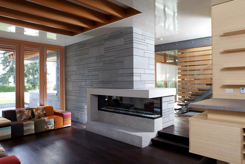 modern contemporary large house in canada (2)