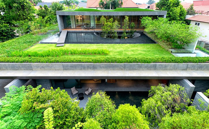 modern house with nature in singapore (14)