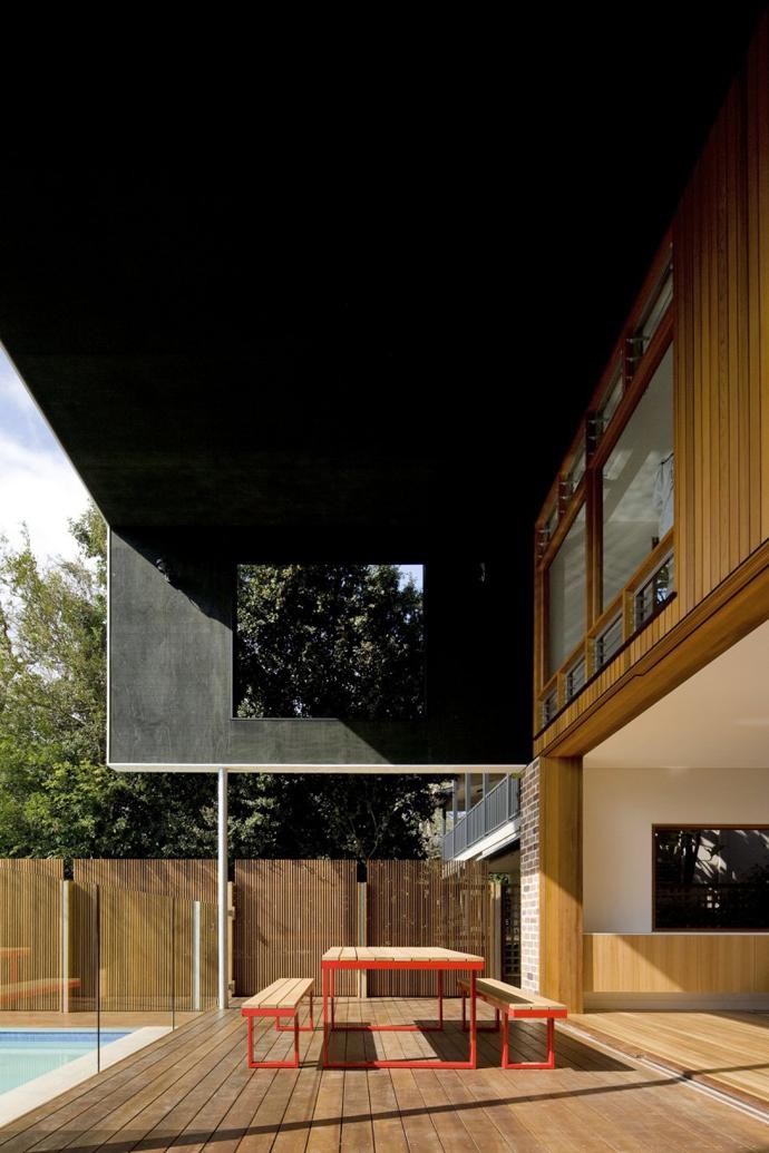 modern resident in sydney australia lawn swimming pool (12)