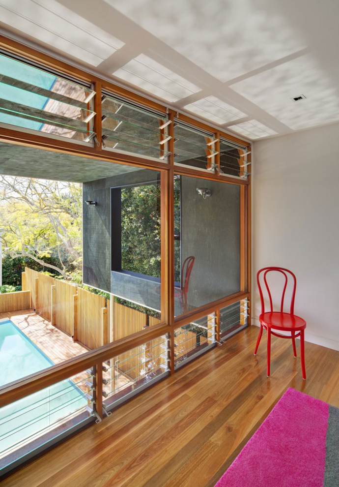 modern resident in sydney australia lawn swimming pool (18)