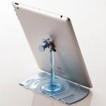 ไอเดียแท่นวาง iPad รูปก๊อกน้ำ ออกแบบได้อย่างสร้างสรรค์จากประเทศญี่ปุ่น