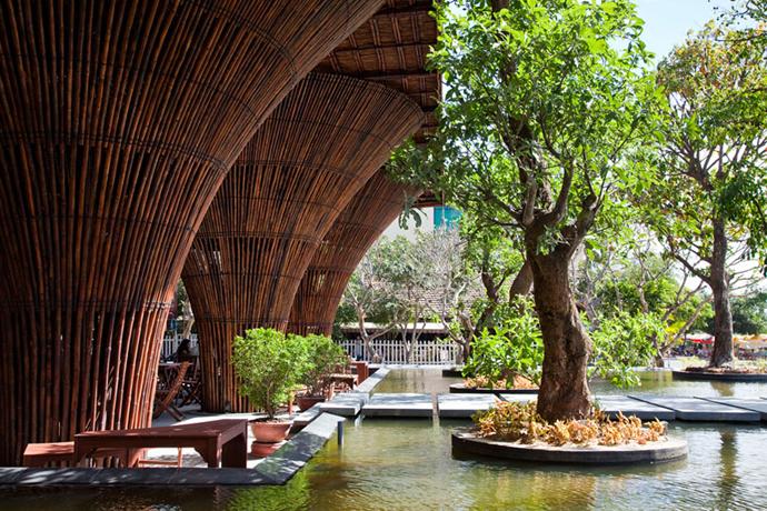 restayrant in vietnam wooden  (14)