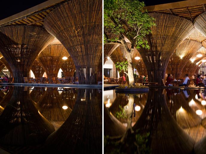restayrant in vietnam wooden  (9)