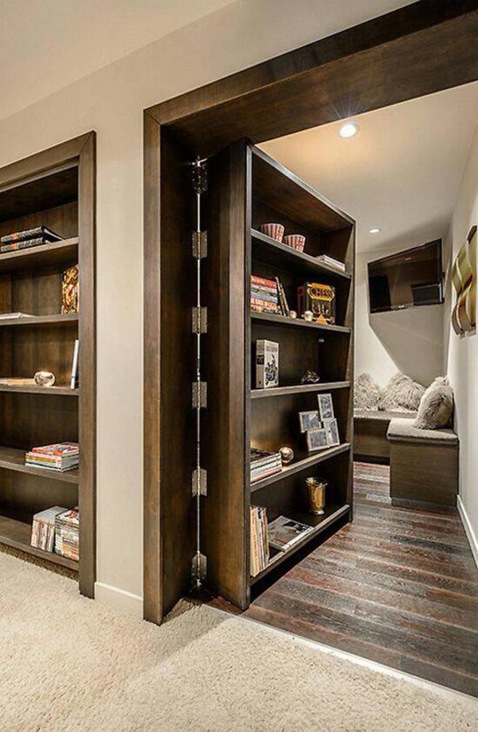 secret door in house ideas (2)