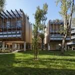 ไอเดียการออกแบบอาคารชุด สร้างเป็นบรรยากาศธรรมชาติ จากประเทศฝรั่งเศส