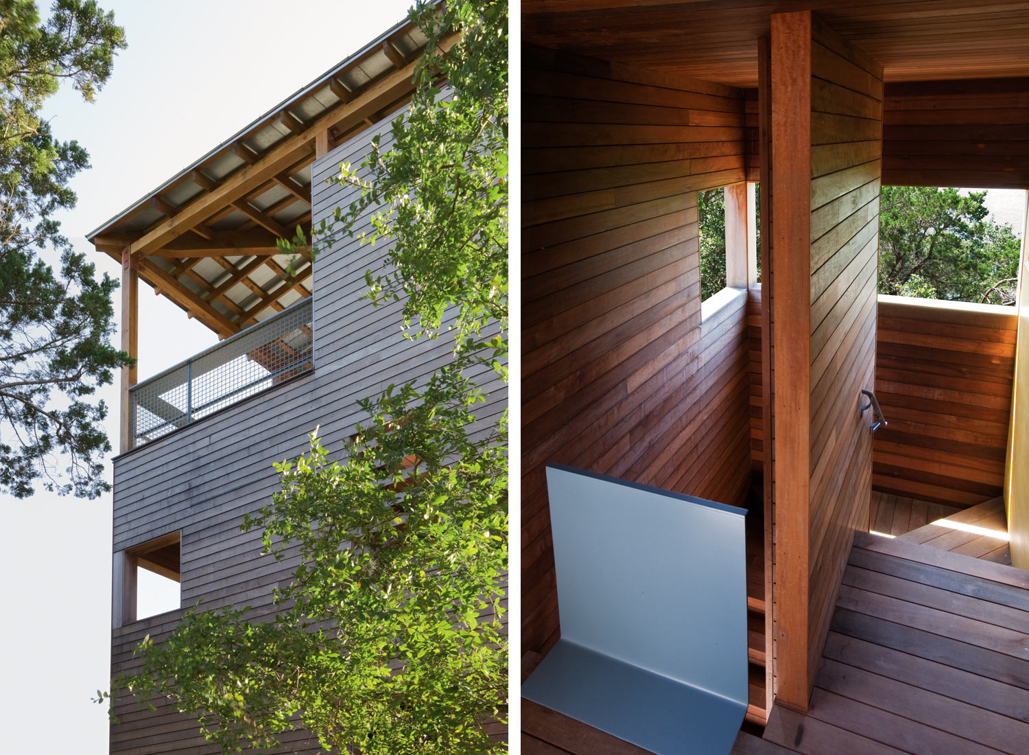 wooden tower house in usa (10)