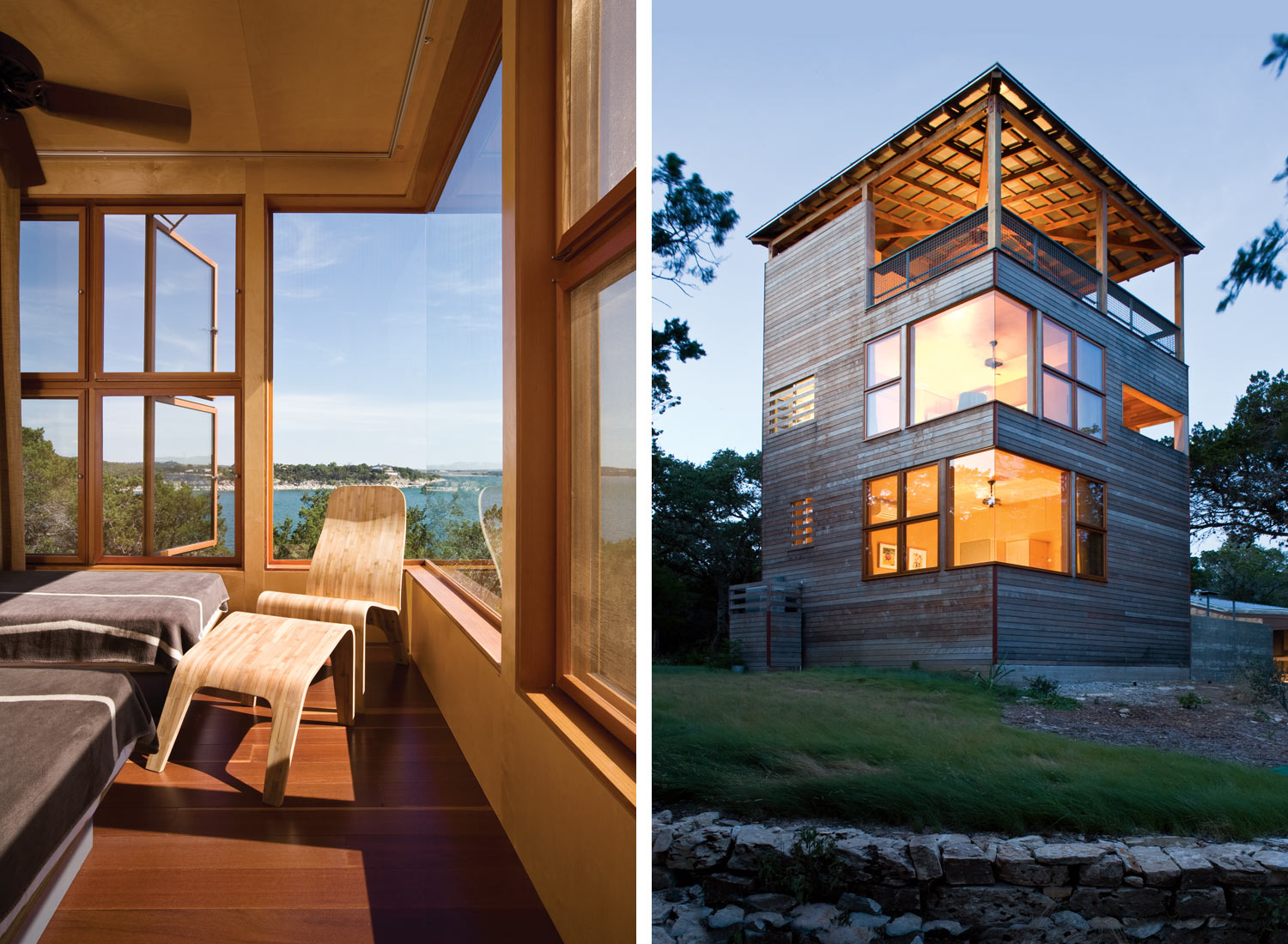 wooden tower house in usa (9)