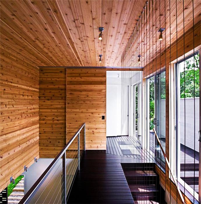 wooden wall interior decorating to warm your house (14)