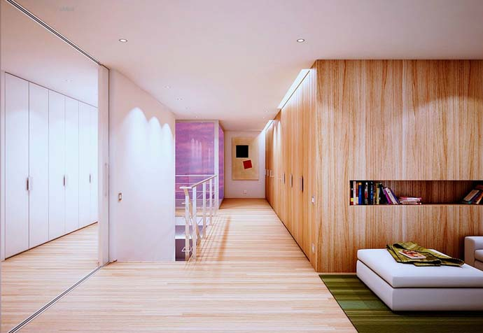 wooden wall interior decorating to warm your house (3)