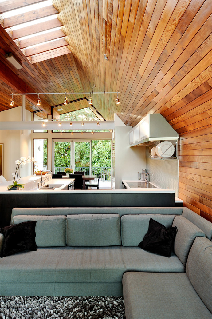 wooden wall interior decorating to warm your house (6)