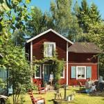 แบบบ้านไม้สองชั้นตกแต่งแนวยุโรป เพื่อการพักผ่อนสบายๆและชีวิตที่สงบสุข