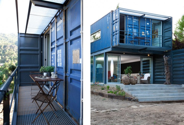 blue container house in spain (4)