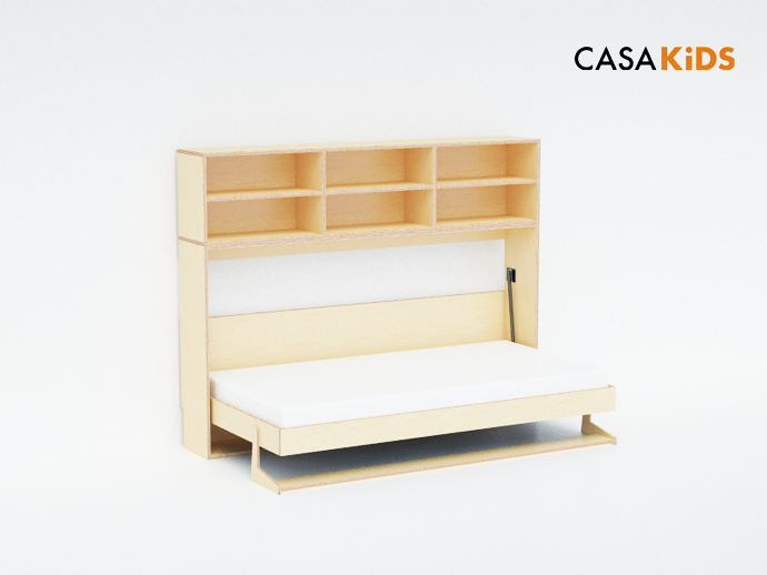compact bed for interior idea design indoor bedroom (10)