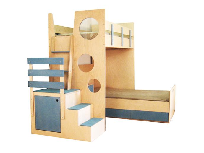 compact bed for interior idea design indoor bedroom (12)