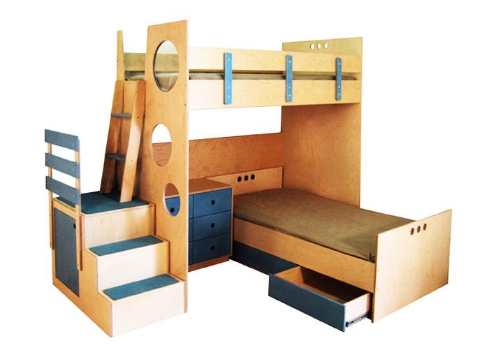 compact bed for interior idea design indoor bedroom (15)