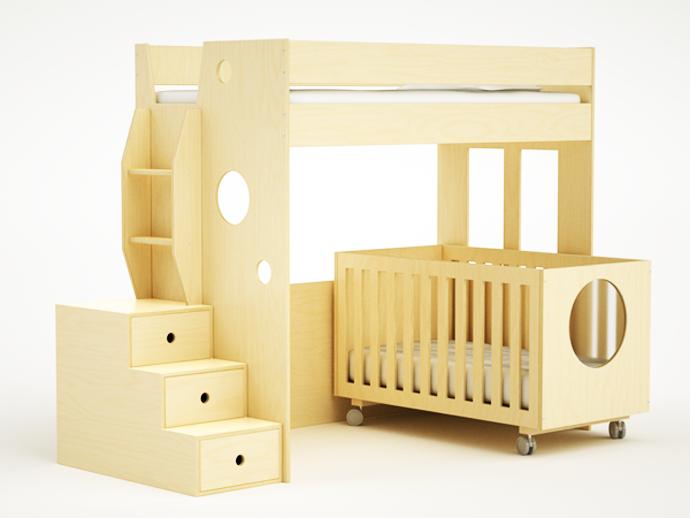 compact bed for interior idea design indoor bedroom (7)