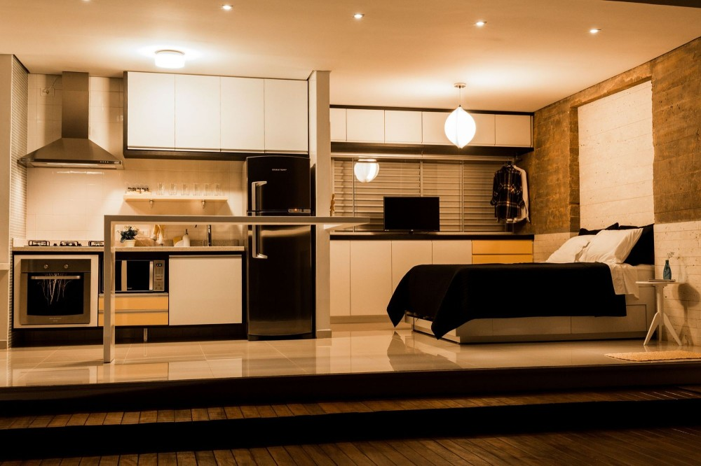 container house modern built in furniture (2)