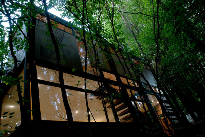 house modern contemporary in forest (14)