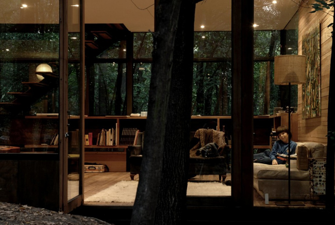 house modern contemporary in forest (17)