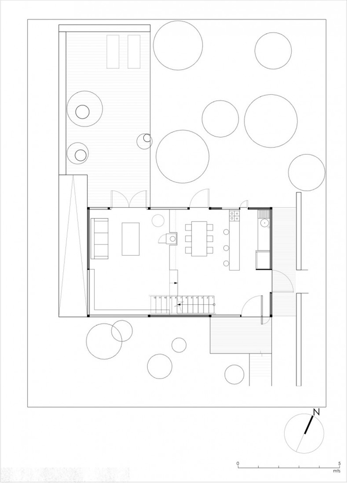 house modern contemporary in forest (6)