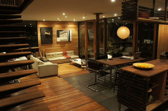 house modern contemporary in forest (7)
