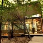 แบบบ้านแนวโมเดิร์น ออกแบบให้น่าอยู่ด้วยไม้และกระจก ผสมผสานความเป็นธรรมชาติ