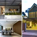 บ้านทาวน์เฮาส์กลางเมืองสิงคโปร์ ออกแบบแนวโมเดิร์นโดดเด่น ด้วยความโปร่งโล่งตา