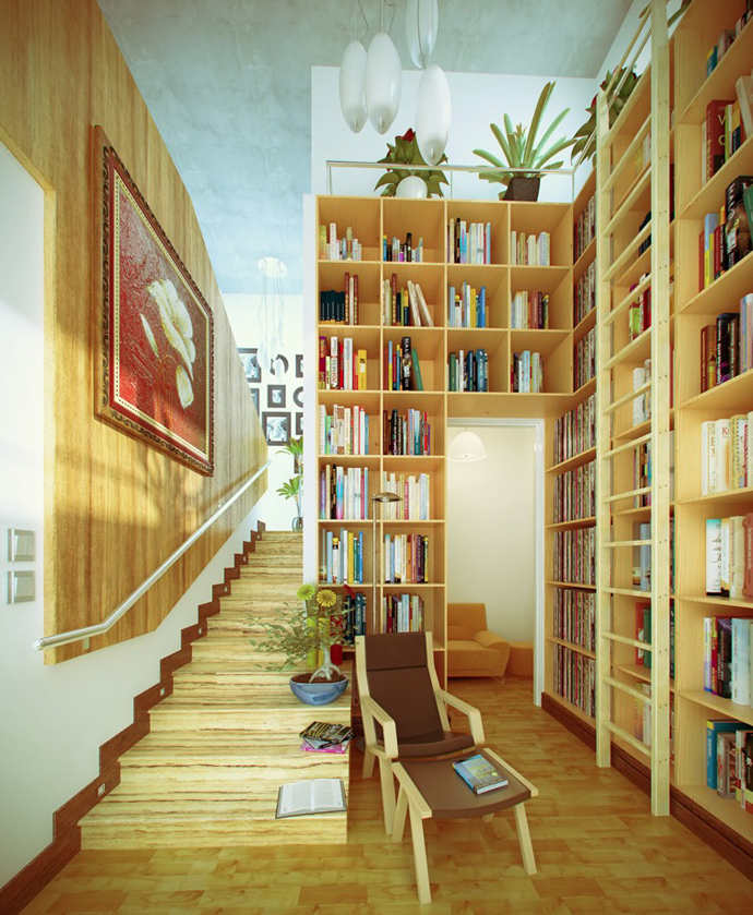 library in house idea (3)