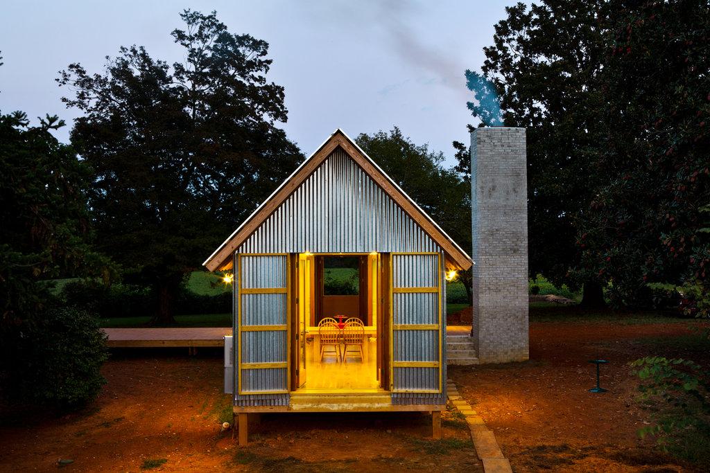 mini cottage house metalsheet (1)