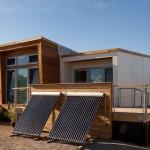 แบบบ้านอนุรักษ์พลังงาน ผลิตไฟฟ้าจากโซลาร์เซลล์ สำหรับชีวิตแห่งยุคอนาคต