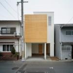 แบบบ้านทาวน์เฮาส์ 2 ชั้นครึ่ง ออกแบบสไตล์โมเดิร์น เรียบง่ายแต่แฝงด้วยไอเดีย