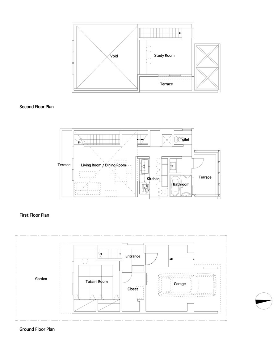 minimal modern townhouse in osaka japan (2)